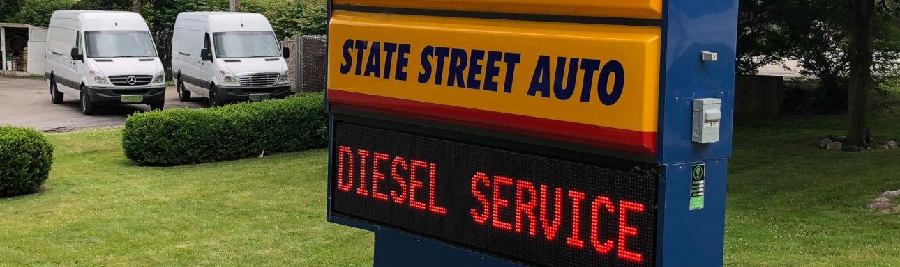 Sprinter Diesel Service in Ann Arbor MI | State Street Auto