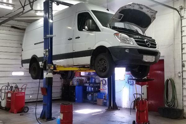 sprinter van repair service in ann arbor mi